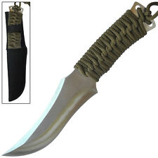Silver Back Full Tang Fixed Blade Wilderness Outdoor Hunting Camping Knife