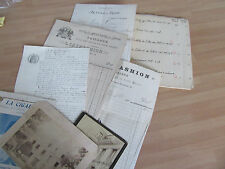ENSEMBLE DE DOCUMENTS  PAUL GAVARNI ET DA FAMILLE CATALOGUE RAISONNE MANUSCRIT