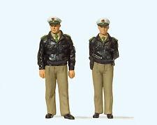 G Polizisten stehend Grüne Uniform Preiser 44900 Neu!!!!