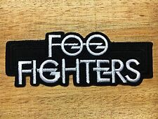 New Foo Fighters Metal Rock Music Band Sew Iron On Embroidered Patch