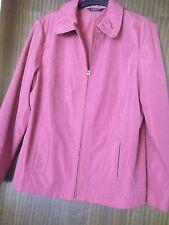 Ladies Pink Waterproof Jacket - BM Size Medium