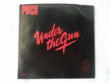 "Poco ""Under The Gun/Reputation"" Picture Sleeve 45 RPM Record"