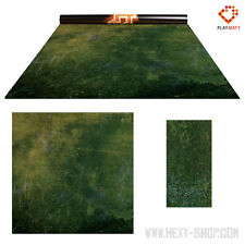 """Forest Moss / Dark Island - Double-Sided 36"""" x 36"""" Mat for Battle Games"""