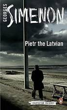 Pietr the Latvian by Georges Simenon (Paperback, 2013)