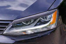 VW JETTA 2011 - 2015 Eyelids eyebrows headlight Spoiler light brows MK6 GLi TDi