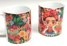 Hello kitty meets Frida kahlo ver. 2 edition 11 oz cup coffee mug LadyKitty