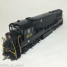 Korea Brass HO 1/87 Scale GE U25C U252020 PRR #6516 DC only Detailed Model Train
