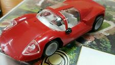 CHAPARRAL SLOT CAR TOY 1:32 Airfix Scalextric Mini slot PLASTIC AND METAL RED