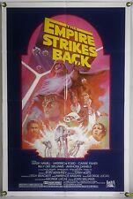 THE EMPIRE STRIKES BACK FF ORIG 1SH MOVIE POSTER LUCAS STAR WARS RR82 (1980)