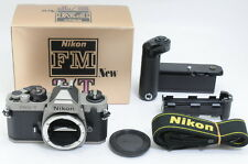 [Mint+] Nikon FM2 T Titanium w/ MD-12 Original Box from Japan ac29644
