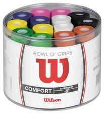 WILSON Bowl O Grip Tennis Squash Badminton Racchette Racchetta overgrip 50 Pacco