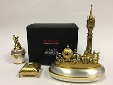 """Cinderella's Magical Night"" Set of 4 by Olszewski, Disney Showcase Collection"