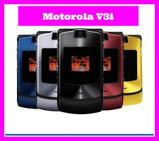 ~ ORIGINAL ~ Motorola RAZR V3i Mobile Phone Bundle | Unlocked | 6 Month Warranty