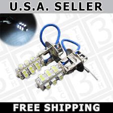 2x H3 WHITE 25-SMD LED Bulbs for fog lights Driving Lamps Daytime Running