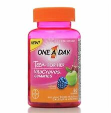 One-A-Day Vitacraves Teen for Her, 60 ea (Pack of 4)