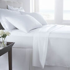 HOTEL QUALITY T400 THREAD COUNT PLAIN DYED 100% EGYPTIAN COTTON BEDDING LINEN