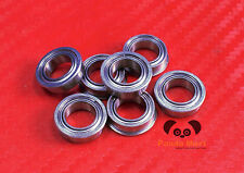 "[4 PCS] SFR3zz (3/16"" x 1/2"" x 0.196"") Stainless Flanged Ball Bearings FR3zz FR3"