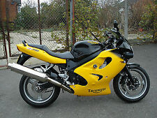 Triumph Touch Up Brush Paint Yellow 2002M