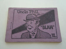 "Uncle Phil ""Blah""comic, Wm. Laird greeting card, erotic ephemera INV2502"