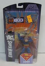 "DC Super Heroes Select Sculpt: Superman Figure - SEALED - Black ""S"" Variant"