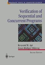 Verification of Sequential and Concurrent Programs (2nd ed) (Graduate -ExLibrary