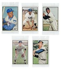 2015 TOPPS NATIONAL CONVENTION VIP SET 1953 BOWMAN COLOR W/ MAYS JACKIE ROBINSON
