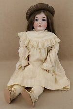 "29"" antique bisque head composition German Armand Marseille Queen Louise Doll"