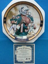 "DAN  MARINO      ""LIMITED GOLD SIG. SERIES""    BRADFORD EXCHANGE PLATE  -  ""420"""