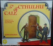 1982 Call of Cthulhu Adventures Boxed Set Grenadier Cthulu Gothic Horror 6501 B