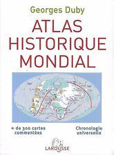 Atlas historique mondial de Georges Duby
