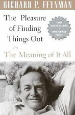 Boxed Set Of Pleasure Of Finding Things Out & Meaning Of It All by Feynman, Rich