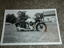 OLD VINTAGE MOTORCYCLE PICTURE PHOTOGRAPH NORTON BIKE #5