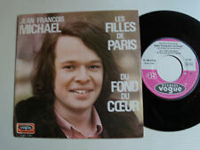 "JEAN FRANCOIS MICHAEL & NEWSTARS: Les filles de Paris 7"" 1970 VOGUE V 45.1721"