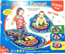 Super Vehicle Musical Carpet For Baby Toddler Kid Gift Toy