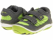 Stride Rite Bright Lime/Grey Soft Motion Shoes Boys Infants Size 3 Wide