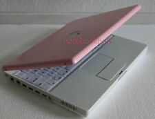 APPLE iBook G4 1.0 GHz LAPTOP COMPUTER WIRELESS CUSTOM PINK OS X Leopard
