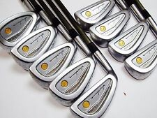 Left-handed 4star Gold HONMA LB-606 9pc R-Flex IRONS SET Golf Clubs inv