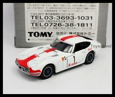 TOMICA  LIMITED TL TOYOTA 2000GT 1/59 TOMY DIECAST CAR NEW WHITE