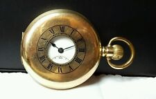 Swiss made gold plated Pocket watch movement  reference# 998 case number 292599