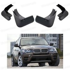 4 Mud Flaps Splash Guard Fender Mudguard for BMW X5 E70 2007-2013 08 09 10 11 12