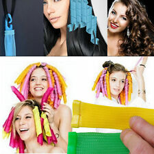 18pcs For Spiral Curls FE DIY Magic Circle Hair Styling Roller Curler Tool