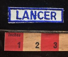 Vtg Retro LANCER Uniform Patch - Old School Work / Job Related 72Y6