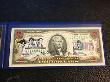 ELVIS PRESLEY *75th Birthday* Legal Tender U.S. $2 Bill VERY PRETTY