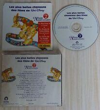 CD LES PLUS BELLES CHANSONS DES FILMS DE WALT DISNEY L'ALBUM ANNIVERSAIRE VOL 2