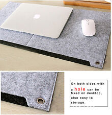 Large Size Felt Gaming Notebook Mouse Pad Laptop Durable Modern Office Table Mat