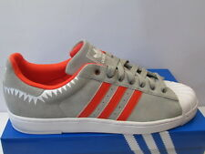 UK SIZE 12.5 - ADIDAS ORIGINALS SUPERSTAR II LITE TRAINERS - GREY