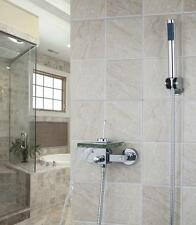 Bathroom WALL Mounted single handle  Mixer Tap with handle spray shower set 783f