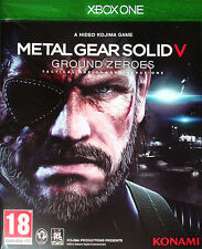 Metal Gear Solid 5 terreno ceros Xbox One Pal