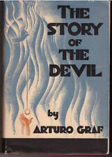 Arturo Graf STORY OF DEVIL Occult Hell 1st Ed DJ 1931