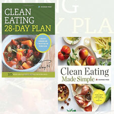 Clean Eating Collection (28-Day Plan, Eating Made Simple) 2 Books Set Paperback